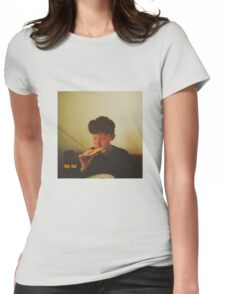 king krule baby blue Womens Fitted T-Shirt