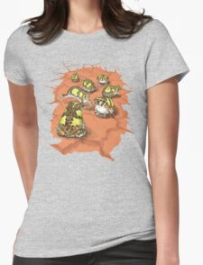 Notaden bennettii - Crucifix Toad Womens Fitted T-Shirt