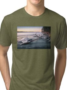Cold winter day Tri-blend T-Shirt