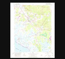 USGS TOPO Map New Jersey NJ Cedarville 254264 1956 24000 Unisex T-Shirt