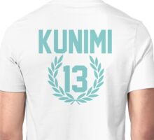 Haikyuu!! Jersey Kunimi Number 13 (Aoba) Unisex T-Shirt
