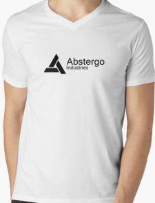 Abstergo Industries Mens V-Neck T-Shirt