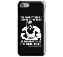 The Worst Thing iPhone Case/Skin