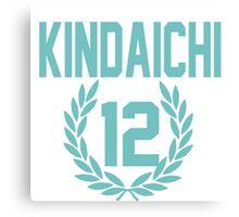 Haikyuu!! Jersey Kindaichi Number 12 (Aoba) Canvas Print
