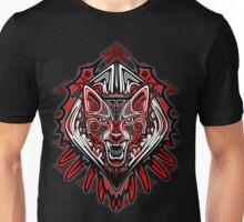 Wolf Tattoo Style Haida Art Unisex T-Shirt