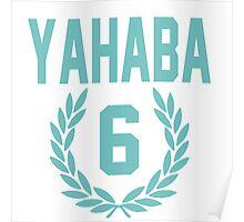 Haikyuu!! Jersey Yahaba Number 6 (Aoba) Poster