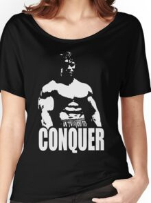 CONQUER (Arnold Standing) Women's Relaxed Fit T-Shirt