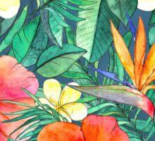 Classic Tropical Garden Sticker