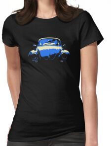 Blue Beetle Womens Fitted T-Shirt