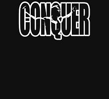 CONQUER (Arnold Iconic White) Unisex T-Shirt