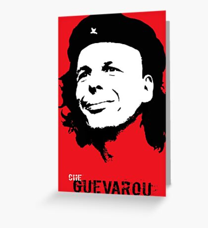 Che Guevarou Greeting Card