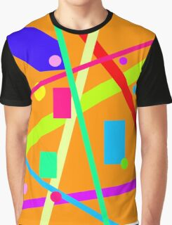 Color Mix Graphic T-Shirt