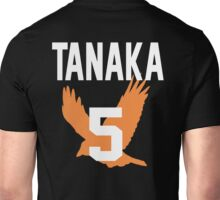 Haikyuu!! Jersey Tanaka Number 5 (Karasuno) Unisex T-Shirt