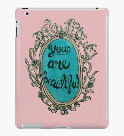 You Are Beautiful iPad Case/Skin