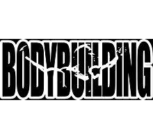 Bodybuilding (Arnold Iconic White) Photographic Print