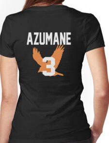 Haikyuu!! Jersey Asahi Number 3 (Karasuno) Womens Fitted T-Shirt