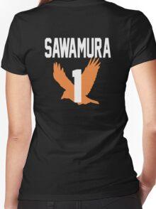 Haikyuu!! Jersey Daichi Number 1 (Karasuno) Women's Fitted V-Neck T-Shirt