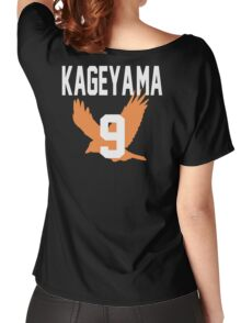 Haikyuu!! Jersey Kageyama Number 9 (Karasuno) Women's Relaxed Fit T-Shirt
