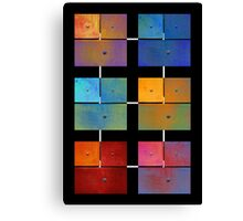 1 to 18 Colorful Rust All Colors Canvas Print