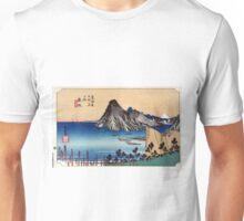 Maisaka - Hiroshige Ando - 1833 Unisex T-Shirt