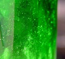 Glassy Green  Sticker