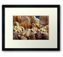 The smell of freshly baked bread Framed Print