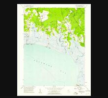 USGS TOPO Map New Jersey NJ Heislerville 254456 1957 24000 Unisex T-Shirt