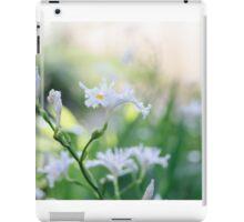 White Iris 3 iPad Case/Skin