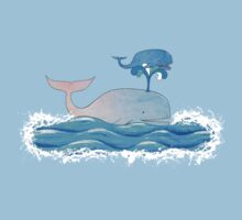 How Whales Have Fun Kids Tee