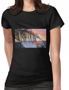 Caribbean sunrise over Atlantic Womens Fitted T-Shirt