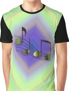 Dubstep Notes Graphic T-Shirt
