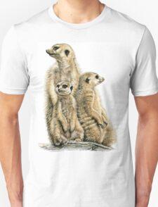 Meerkats Family T-Shirt