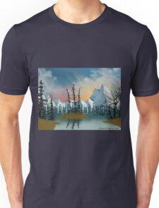 Sweet Mountain Sunrise Unisex T-Shirt