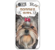 Yorkshire Terrier Spoiled Rotten iPhone Case/Skin