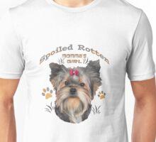 Yorkshire Terrier Spoiled Rotten Unisex T-Shirt
