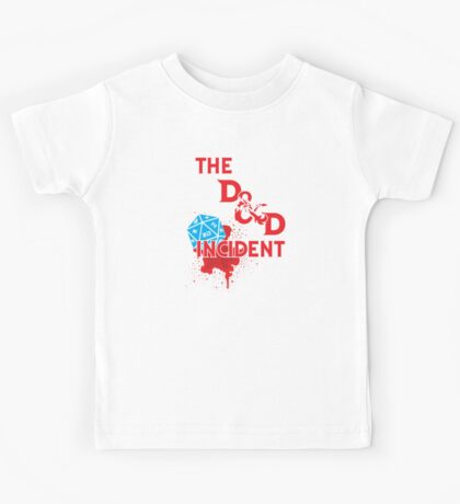 The D & D Incident - Dungeons & Dragons Kids Tee
