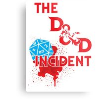 The D & D Incident - Dungeons & Dragons Metal Print