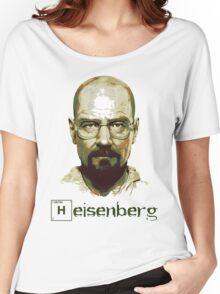 Heisenberg Vector Art Tshirt Women's Relaxed Fit T-Shirt