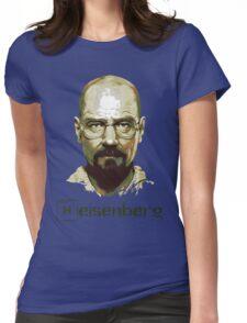 Heisenberg Vector Art Tshirt Womens Fitted T-Shirt