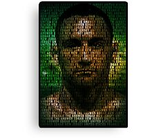 Frankie Edgar, The Answer (Superimposed) Canvas Print