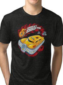 Korben's Crazy Taxi Tri-blend T-Shirt