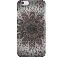 The silver mandala iPhone Case/Skin