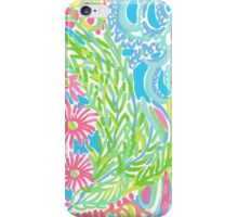 Lilly Pulitzer Lovers Coral  iPhone Case/Skin