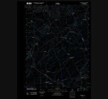 USGS TOPO Map New Jersey NJ Hopewell 20110412 TM Inverted Unisex T-Shirt
