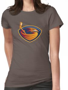 atlanta trasher Womens Fitted T-Shirt