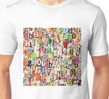 Letters Unisex T-Shirt