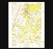 USGS TOPO Map New Jersey NJ Jamesburg 254487 1953 24000 Unisex T-Shirt