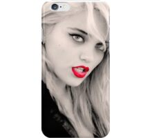 Sky Ferreira red lips iPhone Case/Skin