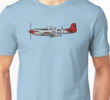 Pixel Mustang P-51D Unisex T-Shirt