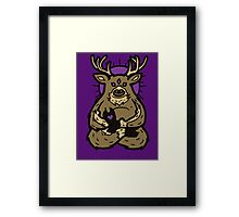 Spirit Deer Framed Print